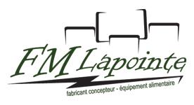 F.M. Lapointe - fabricant concepteur - équipement alimentaire